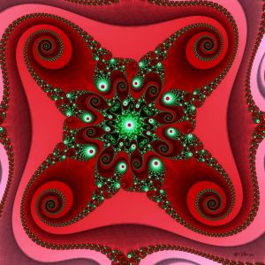 A Mandelbrot Christmas by Shadoweddancer