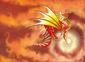 the sun dragon by Neooxx