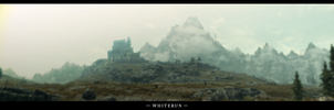 The Elder Scrolls V Skyrim Whiterun Panorama by Titch-IX