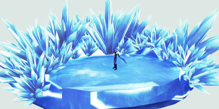MMD - Ice Stage DL by GoblinZeppelin