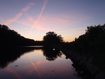 The Sky Paints the River by irrationalrationale