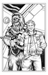 Han and Chewie by RamArtwork