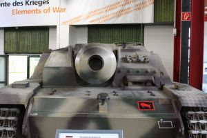 The mouth of a Sturmgeschutz III by Liam2010