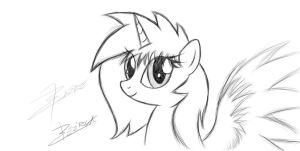 Flaire the Alicorn OC by Xeirla