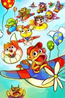 Diddy Kong Racing by ohmonah