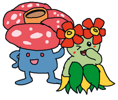 Dr. Manny's Database: Vileplume and Bellossom by DoctorManny