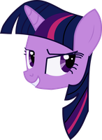 Twilight Sparkle's head by mallo15