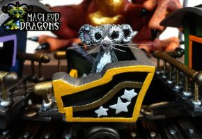 Toy Train Dragon 2014 by MacLeodDragons