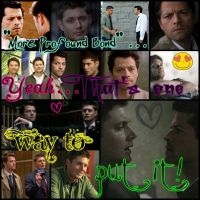 Destiel. 8D by MissMusicMartina