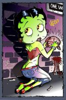 UNDEAD Betty Boop by maxmblk66