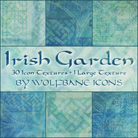Irish Garden Texture Set by jordannamorgan