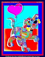 Clifford the big red(different color)dog  1st edit by HomeOfBluAndshadows
