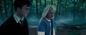 Luna and Harry, forest. by Lathair