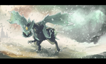 Kyurem by Tuooneo