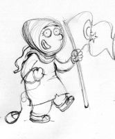 Proudly Muslima Blogger Sketch by ademmm