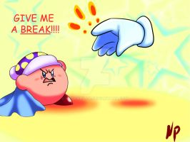 Give me a break kirby by NoxPapillo
