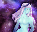 Ghost in the Galaxy || Devore DTA by witchyprince