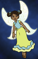 Disney-style Fairy by cyberhare
