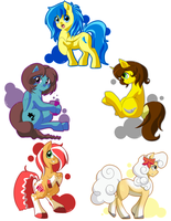 Art Trade Batch 01 by quila111
