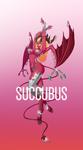 Succubus by Kawa-V