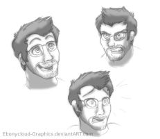 Markiplier Concept Art by Ebonycloud-Graphics