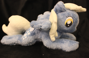 Derpy Hooves beanie style plush by rainetomoe