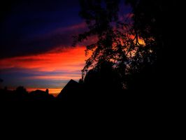 Sunset 7-11-11 by GhostingFish