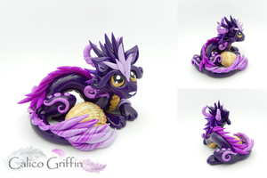 Violet Oriental Cayo Dragon by CalicoGriffin