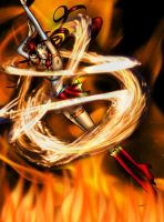 EDIT: Sailor Fire Attacks by SailorDream