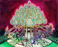 Tree of Life Carousel by Diana-Huang