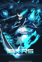 Black Rock Shooter by TrenzillaXDesigns