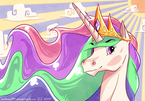 Sun Goddess by malphigus