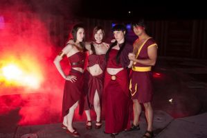 Team Fire Nation by thatbloodypirate