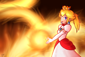 Fire Peach - Burning Princess by RingoAndou