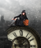 Time traveler by Mariam-Alesayi