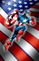 Captain America by Foongatz