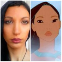 Pocahontas istant make up2 by valentinachan