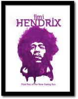 Jimi Hendrix - Poster by 2canart