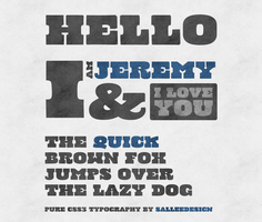 cowboy slang css3 page by LeMex