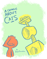 A Comic About Cats -Cover- by Mister-Saturn