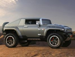 Hummer HX Concept by TheCarloos