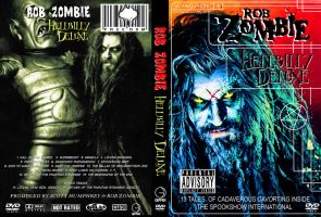 Rob Zombie Hellbilly Deluxe DVD Cover by MisterBill82