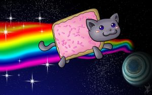 Nyan Cat by PikaShep