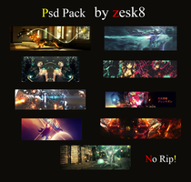 psd pack no.2 by zesk8 by zesk8