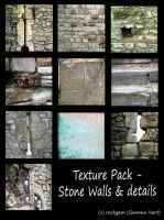 Texture Pack - Stone walls and Details by rockgem