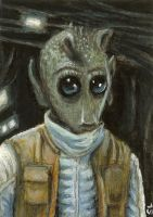 greedo -SW sketch card by slave-roc
