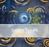 Golden Spirals by TehAngelsCry