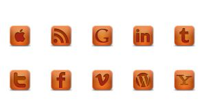 New Social Icons by abdussadik