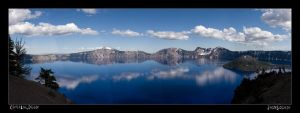 Crater Lake Pano by Norcalsnoe