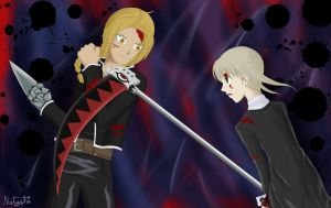 Ed Vs Maka by Lunatta